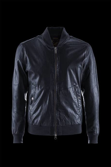 BOMBER MAN LEATHER