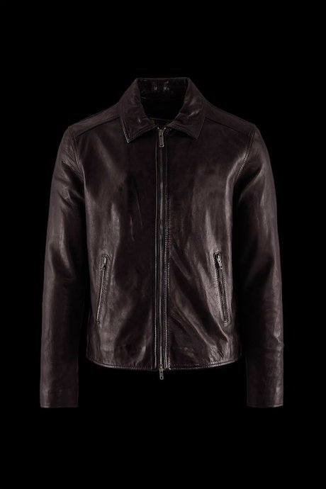 Man's leather jacket Jhim