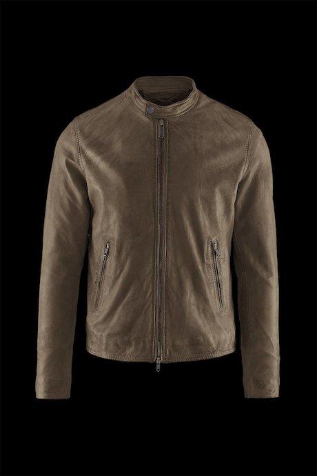 Man's leather jacket Roke