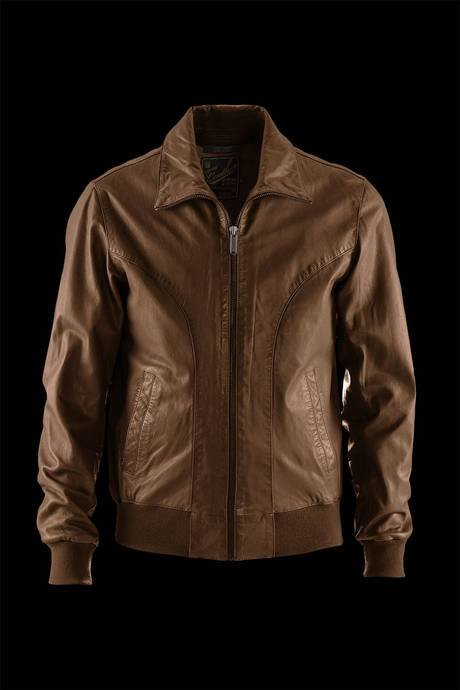 JACKET MAN LEATHER BIKER