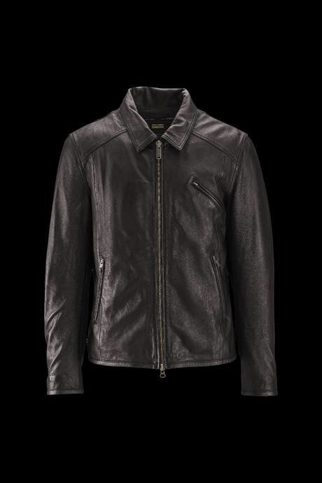 Man's leather coat Wick