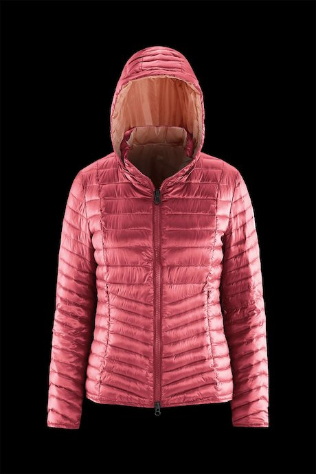 Woman's down jacket Reversibile