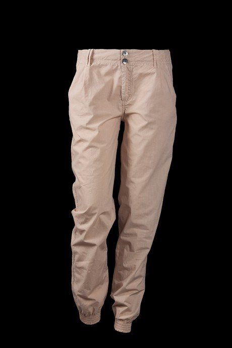 WOMEN'S PANTS POCKET CHINO AND FLEXIBLE CLOSURE