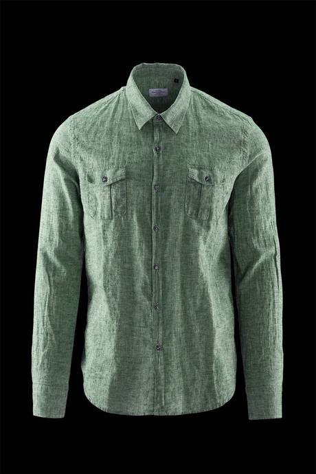 LONG SLEEVE SHIRT CHAMBRAY