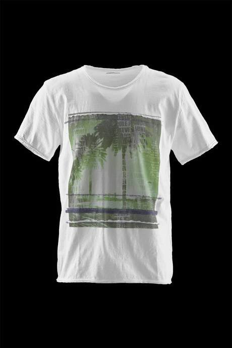 T-SHIRT NECK SHORT SLEEVE RELEASE PALMS