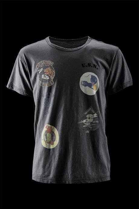 T-SHIRT UOMO  ARMY PRINTED PATCHES