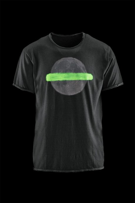 Man's T-shirt Moon