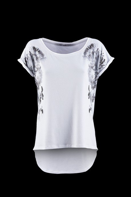T-SHIRT WOMEN SHORT SLEEVE FLORAL