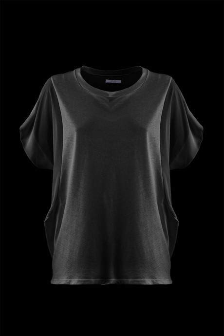 BLOUSE WOMEN SHORT SLEEVE
