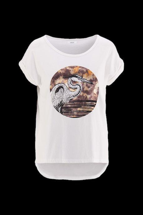 Woman's T-shirt Foil Print