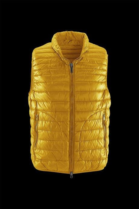 PADDING VEST MAN SYNTHETIC FEATHER EFFECT