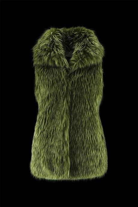 Woman's ecofur coat