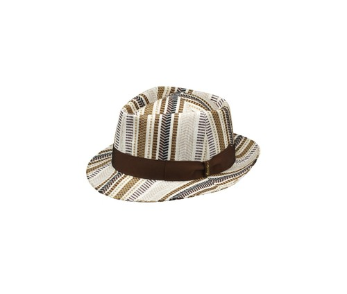 Fabric diamond-shaped hat