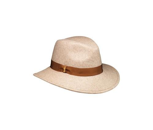 Cappello tessuto large