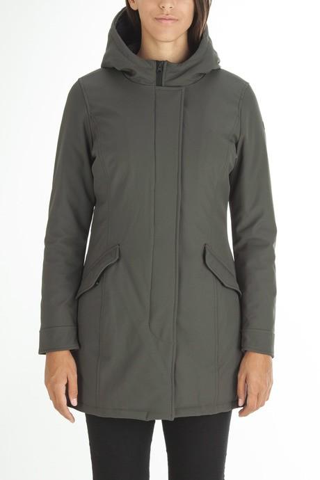 Woman's soft-shell coat