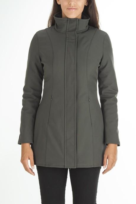 Woman's long softshell jacket