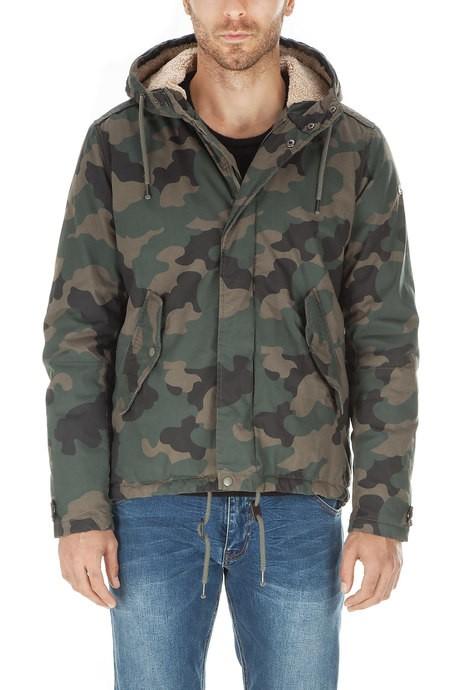 Men's parka camouflage