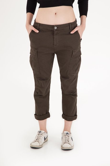 Woman's Trousers - PW2490TVIKG