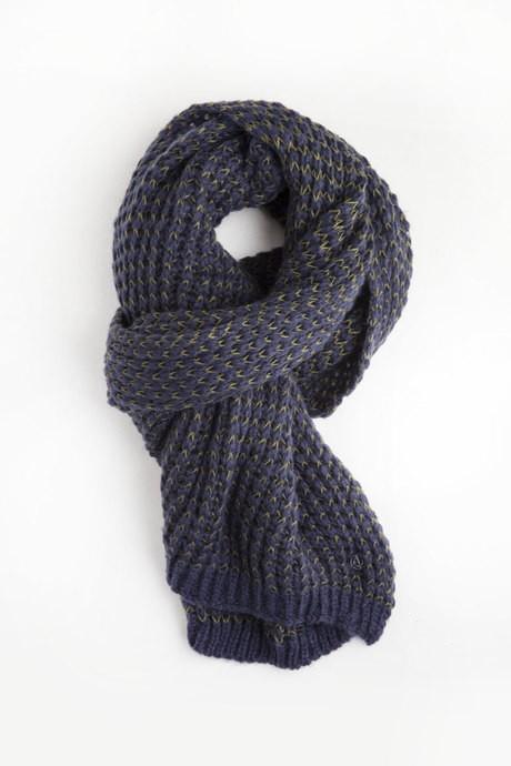 Bicolor scarf