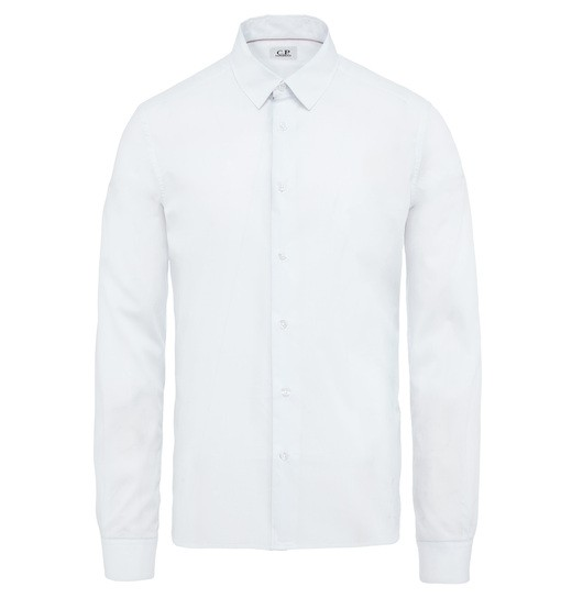 SLIM FIT POPELINE LS SHIRT