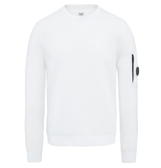 TUBULAR FLEECE LENS CREW NECK
