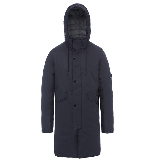 MICRO M LENS LONG PARKA JACKET