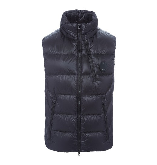 D.D. SHELL LENS ZIP DOWN VEST