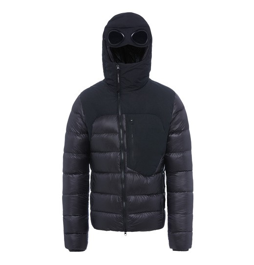 D.D. SHELL MIXED GOGGLE ZIP JACKET