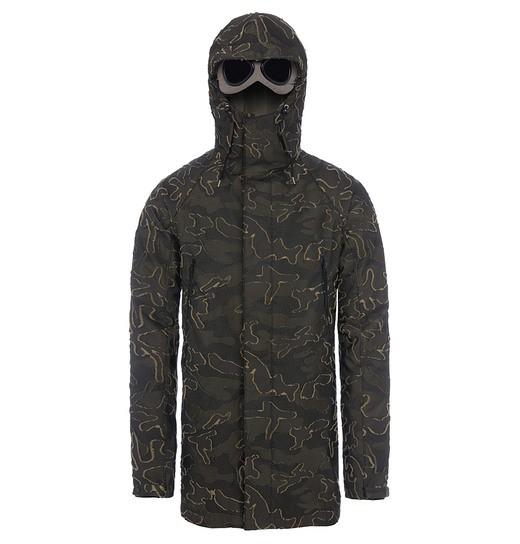 Camotage Jacquard Fishtail Parka Jacket | C.P. Company Online Store