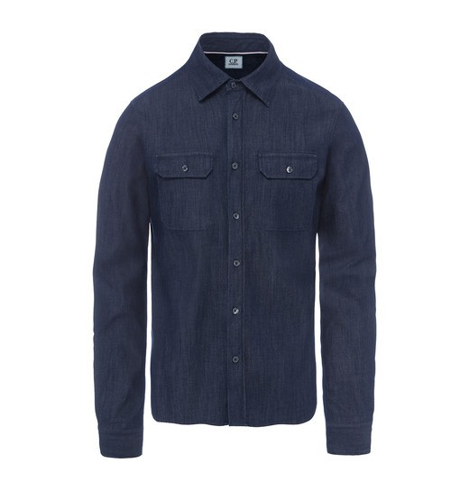 CHAMBRAY OFFICER SHIRT