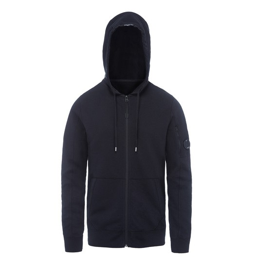 GD LIGHT FLEECE LENS ZIP HOODED SWEATSHIRT