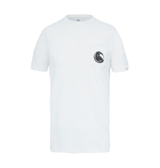 PRINTED LENS POCKET SS T SHIRT