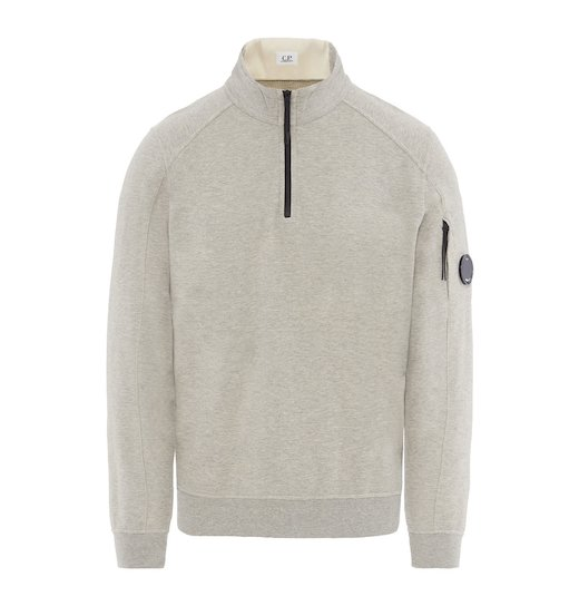 GD LIGHT FLEECE LENS HALF ZIP SWEATSHIRT