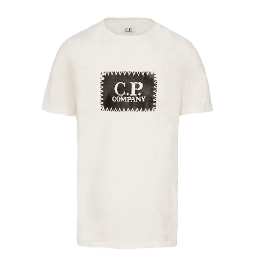 C.P. LABEL JERSEY SS T SHIRT