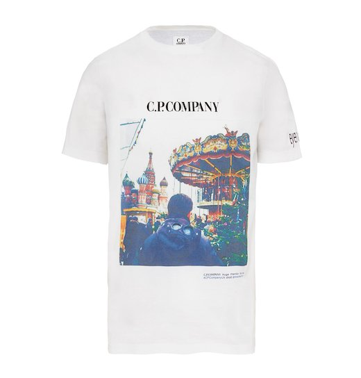 #EYESONTHECITY FRONT PRINT WASHED JERSEY SS T SHIRT