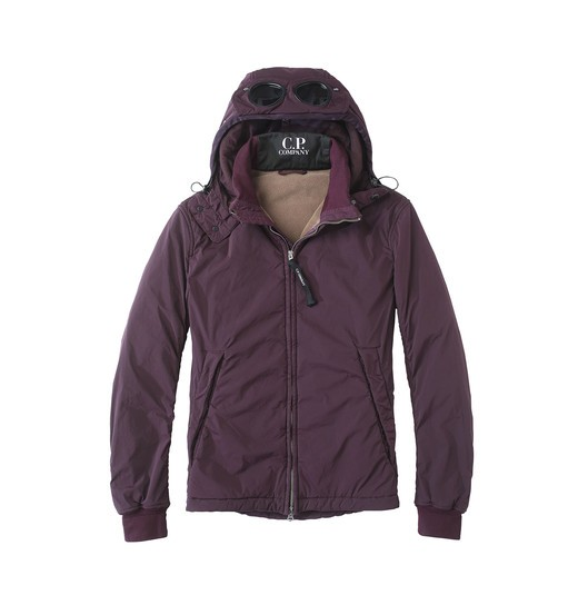 NYCRA GOGGLE BLOUSON WITH OVER-DYED POLAR FLEECE LINING