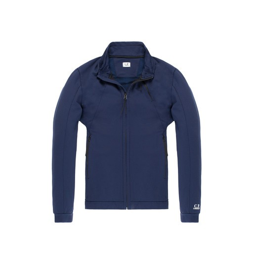 FELPA NYLON ZIP SWEATSHIRT