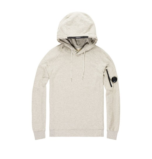 LIGHTWEIGHT COTTON FLEECE HOODIE