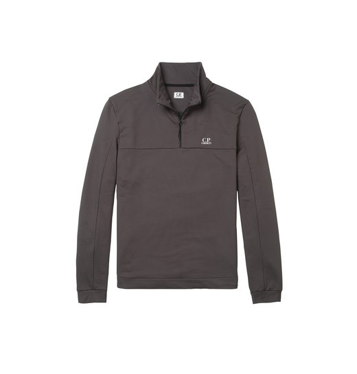 FELPA NYLON QUARTER-ZIP SWEATSHIRT