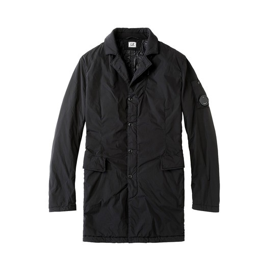 NYCRA OVERCOAT WITH QUILTED LINING