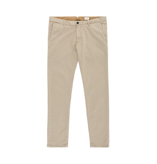 SLIM FIT OLD DYED GABARDINE CHINOS