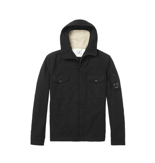 PANNO HOODED OVERSHIRT