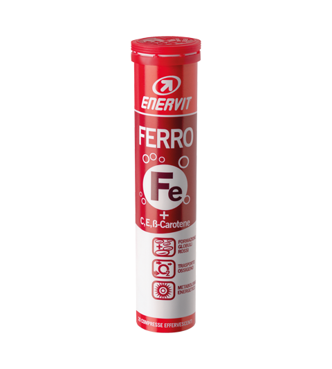 ENERVIT FERRO + VITAMINA C ed E - Mix Di Frutta