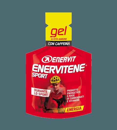 ENERVITENE SPORT GEL AGRUMI CON CAFFEINA - Agrumi