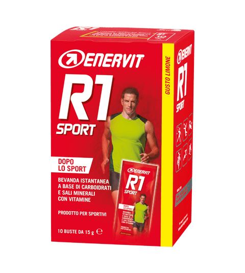 ENERVIT R1 SPORT - Arancia