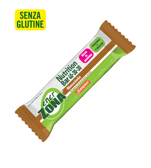 ENERZONA NUTRITION BAR 40-30-30 NOCCIOLA