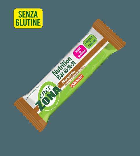 ENERZONA NUTRITION BAR 40-30-30 NOCCIOLA