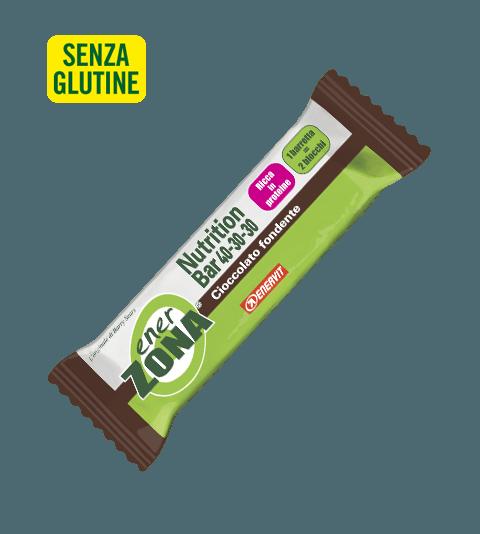 ENERZONA NUTRITION BAR 40-30-30 CIOCCOLATO FONDENTE - Cioccolato Fondente