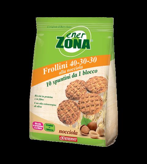 ENERZONA FROLLINI 40-30-30 NOCCIOLA - Nocciola