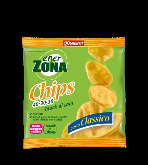 ENERZONA CHIPS 40-30-30 GUSTO CLASSICO